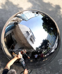 160cm huge hollow stainless steel mirror sphere